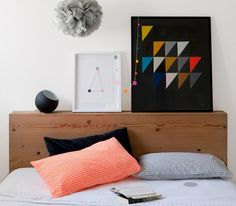 I would like to make the art and the headboard. I will buy the sheets.  Love.