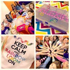 NatalieKMudd: Rainbow Loom Birthday Party