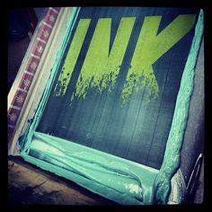 Putting down INK #superiorink #fashion #apparel #printing #screenprinting #design