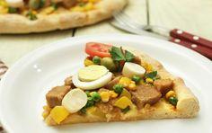 Pizza Portuguesa Goshen.