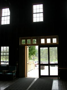 Sunlight through many windows in dark barn Winding Road, Sunlight, Track, Barn, Windows, Converted Barn, Runway, Nikko, Truck