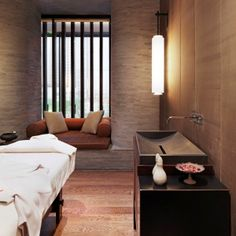One 60-minute aroma body massage at Anantara Spa per room in The Puli, Shanghai.