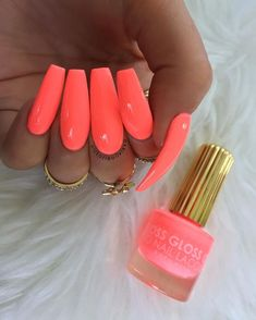 50 Acrylic Coffin Nails Art Designs For You In 2019 Summer - Septor Planet acrylic coffin nails art designs for you in 2019 summer - Septor Planet # coffi . Coffin Nails Ombre, Aycrlic Nails, Neon Nails, Usa Nails, Bright Nails Neon, Bright Summer Acrylic Nails, Best Acrylic Nails, Acrylic Nail Designs, Nail Art Designs