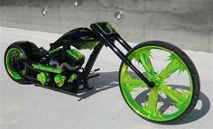 Everyone knows i love fast cars, custom bikes/choppers, and flying...Nasty - Sic Choppers