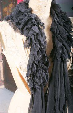 Feather Free Chiffon Boa