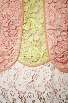 Кружевной пэчворк / Пэчворк, стёжка и арт-квилт / Своими руками - выкройки, переделка одежды, декор интерьера своими руками - от ВТОРАЯ УЛИЦА
