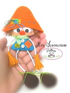 Mr. & Mrs. Scarecrow-Set of two PDF Sewing pattern-Fall