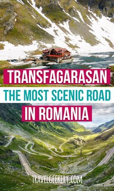Transfăgărășan Highway was coined one of the most scenic roads in the world. See what it's like to drive on it and what special things you can see along. European Travel Tips, Europe Travel Guide, European Destination, Travel Guides, Travel Destinations, Travel Advice, Budget Travel, Romania Travel, Beautiful Roads