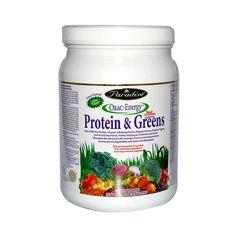 Paradise Herbs Orac Energy Protein Greens 16 Oz