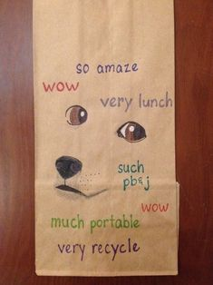 27 Incredible Examples Of Lunch Paper Bag Art