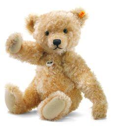 Steiff Classic 1905 Teddy Bear: Mohair Stuffed Bear