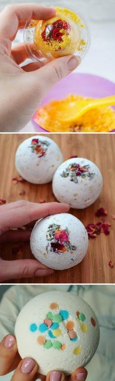 Homemade Bath Bombs Recipes and Tutorials.