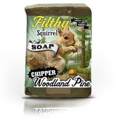 Filthy Farmgirl — Filthy Squirrel-Chipper Woodland Pine