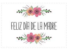 Día de la Madre: tarjetas gratis Mothers Day Images, Mothers Day Quotes, Mothers Day Crafts, Birthday Gifts For Best Friend, Gifts For Mum, Diy Birthday, Birthday Quotes, Morhers Day, Motto Quotes