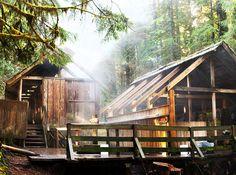 Hike to Bagby Hot Springs