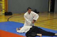 Aikido-Kyuprüfungen 23.05.2015, Linz - Nikkyo Fixierung