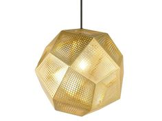 Pendelleuchte aus Messing ETCH SHADE BRASS Kollektion Etch by Tom Dixon | Design Tom Dixon