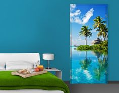 TürTapete Tropisches Paradies