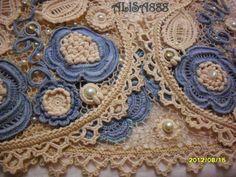 "Irish crochet &: Alisa Verbitskaya и ее ""Жемчужные стрекозы"""