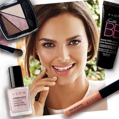 We're all about a fresh-faced look for #Spring with pops of pastel and glossy lips. #AvonMakeup