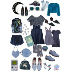 """""""Blue dream"""" by janeth-davalos on Polyvore"""