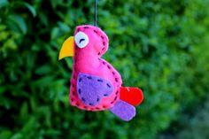 DIY, birdy felt <3