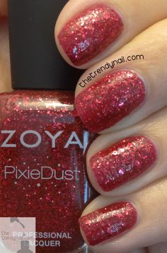 """New Textured Polish Release: """"Oswin"""" Ultra Pixie Dust by Zoya for Fall 2014 - Check out full collection swatches & reviews!"""