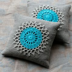 ok so these are really lavender sachets, but wouldn't it make a sweet tiny ring pillow? handmade too!
