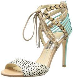 Dolce Vita Women's Hexen Dress Sandal,Spotted Mint,10 M US Dolce Vita