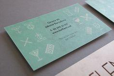 Projeto inspirador de cartão de visita.