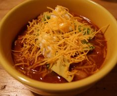 One Pot Meal: White Bean Turkey Chili