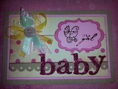 "photo (31) invitación para un ""baby shower"" de niña by Denise Scraps"