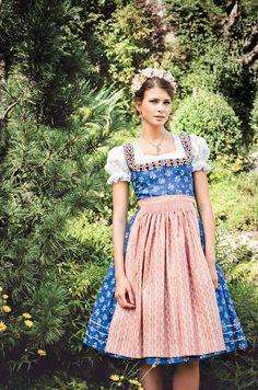 """Lena Hoschek Tradition S/S15 """"Dirndl Cordula"""" www.lenahoschek.com"""