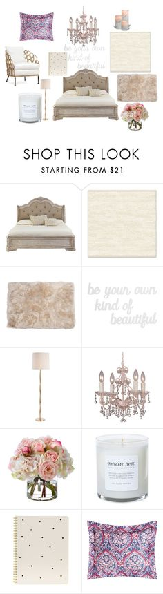 """Untitled #3"" by mirela-r13 on Polyvore featuring interior, interiors, interior design, home, home decor, interior decorating, West Elm, PBteen, Arteriors and Crystorama"