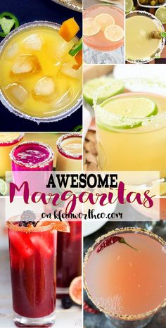 Awesome Margarita Recipes that are sure to rock any Cinco de Mayo party or tailgate event. If you love watermelon, strawberry, spicy & classic margaritas, they are all here to spice up your happy hour! via @KleinworthCo #margarita #fiesta #cincodemayo #cocktail #drink #beverage #celebrate #margaritarecipes