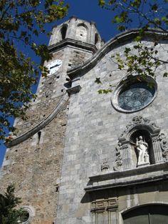 Catalan church Malgrat de Mar