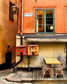 Österlånggatan Cafe, Stockholm, Sweden