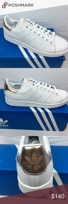 Adidas Stan Smith  W Adidas Stan Smith Rose gold for women Adidas Shoes Athletic Shoes
