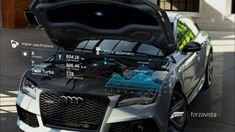 Forza Motorsport 6 - UI Design and Prototyping on Behance Web Design, Design Basics, Game Design, Forza Motorsport 6, Microsoft, Xbox, Urban Design Concept, Car Ui, Car Advertising