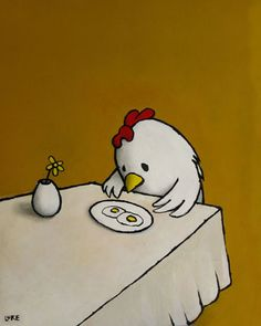 LUKE CHUEH : I ASKED FOR SCRAMBLED... chronicles of a sad bird