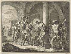 Jan Luyken | Geseling van Christus, Jan Luyken, 1712 |