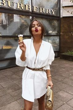 In A Search For A Perfect White Dress For Summer - Fashion - Summer Dress Outfits Mode Outfits, Fashion Outfits, Womens Fashion, Fashion Tips, Dress Fashion, Fashion Ideas, Jeans Fashion, Fashion Websites, Fashion Capsule
