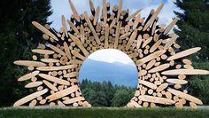 Asombroso: Mira que clase de esculturas se puede hacer con estos troncos viejos