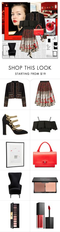 """""""Simply Beautiful"""" by rainie-minnie ❤ liked on Polyvore featuring Diane Von Furstenberg, Miss Selfridge, Holly Fulton, Dolce&Gabbana, Topshop, Givenchy, Tom Dixon, blacklUp, Yves Saint Laurent and Smashbox"""