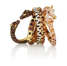 Stackables - More Kenneth Jay Lane fabulous faux jewelry.  Perfect for travel.