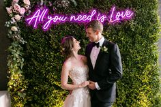 If you, your spouse-to-be, or your family are big Beatles fans, discover wedding songs by The Beatles for your ceremony and special dances! Love Neon Sign, Neon Light Signs, Led Neon Signs, Unique Wedding Gifts, Unique Weddings, Wedding Songs, Wedding Ceremony, Wedding Veils, Wedding Dresses