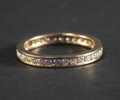 SALE Ready to Ship  Eternity Diamond WEDDING by BeautifulPetra, $1,500.00