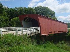 Covered bridge, Madison County, IA