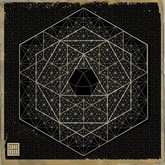 decahedron, sacred geometry