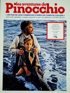 Nino Manfredi Gina Lollobrigida LES Aventures DE Pinocchio Luigi Comencini 1972 | eBay